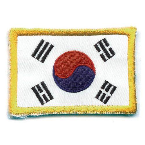 Escudo banderita de Corea