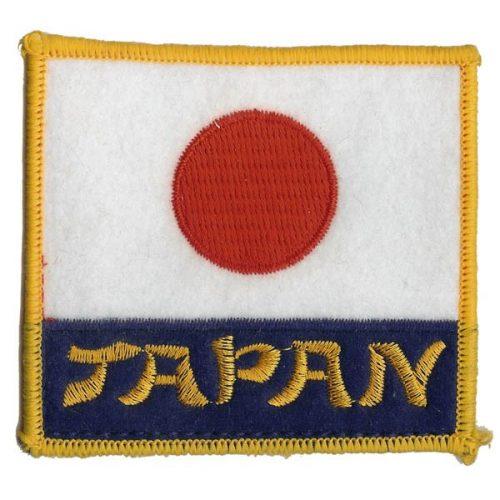 Escudo bandera japonesa