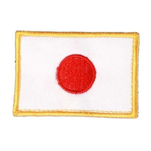 Escudo banderita de Japón