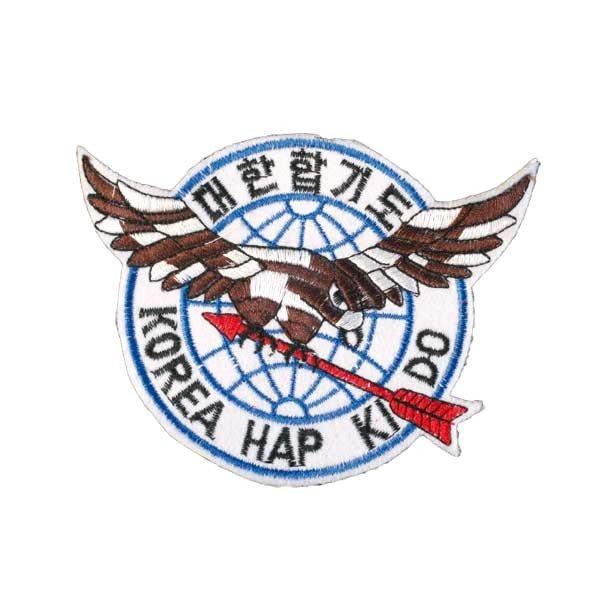 Escudo bordado Hapkido