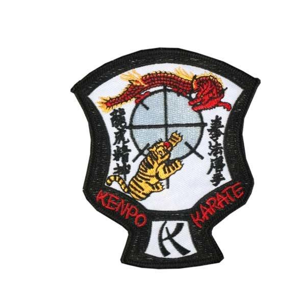 Escudo bordado Kenpo