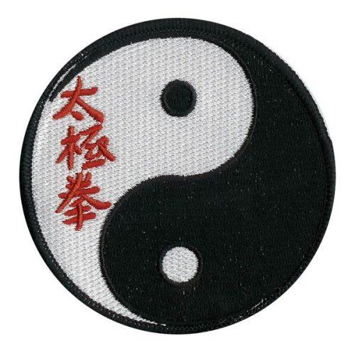 Escudo Ying Yang con letras