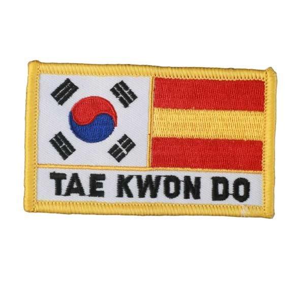 Escudo bordado Taekwondo