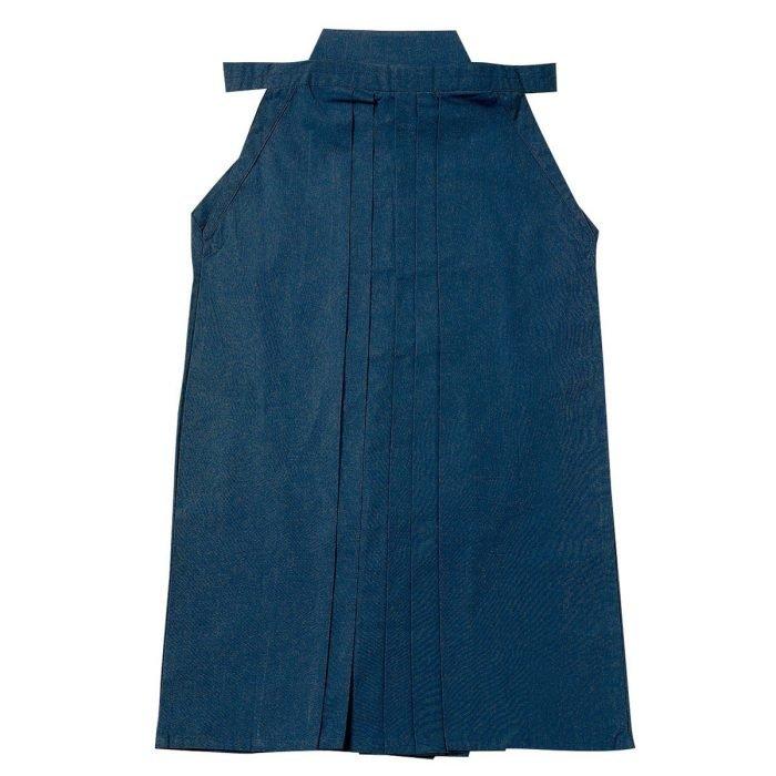 Hakama poliéster-algodón azul