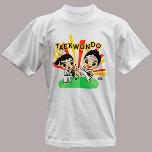 Camiseta TKD Demo Kids