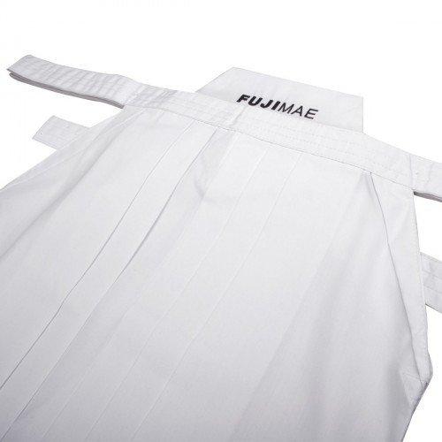 Hakama poliéster-rayón blanca