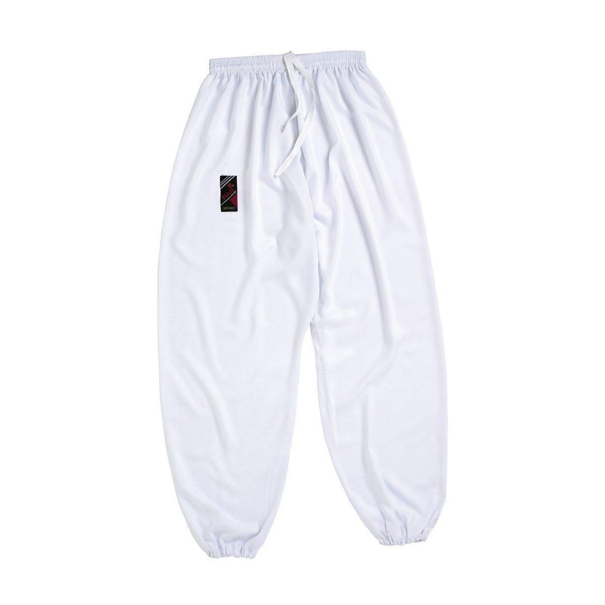 Pantalón Tai Chi blanco
