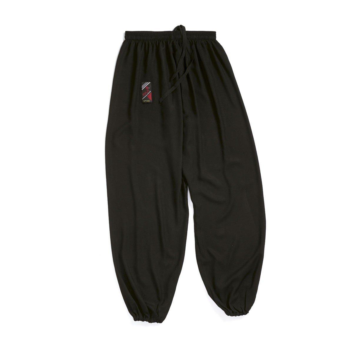 Pantalón Tai Chi negro
