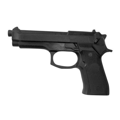 Pistola entrenamiento policial goma termoplástica
