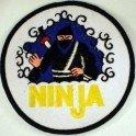 Escudo bordado Ninja