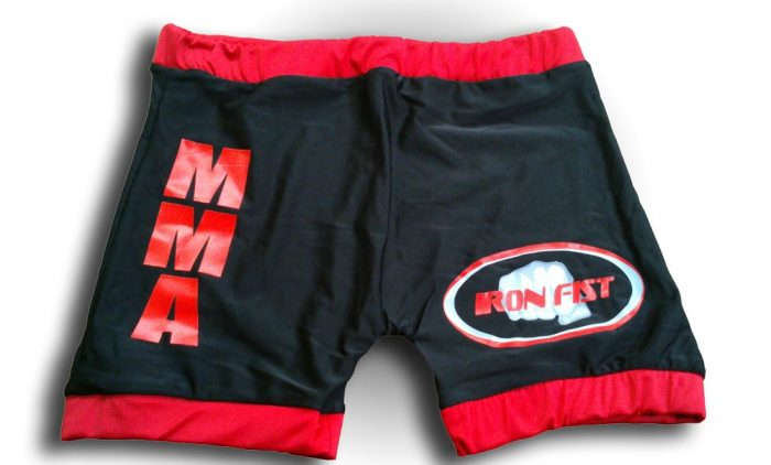 Short MMA Iron Fist