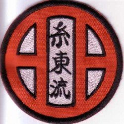 Escudo bordado Shito Ryu