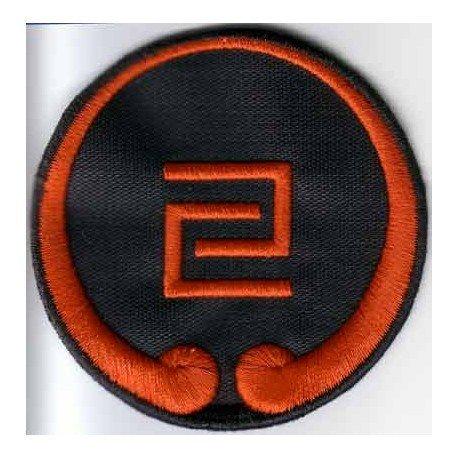 Escudo bordado Goju Ryu