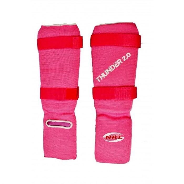 Espinillera Tubular Rosa Thunder 2.0