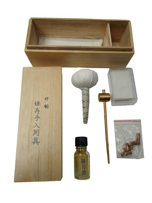Kit de limpieza para katana