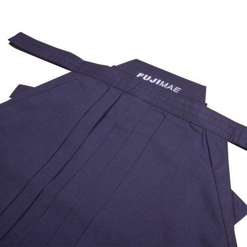 Hakama poliéster-rayón azul