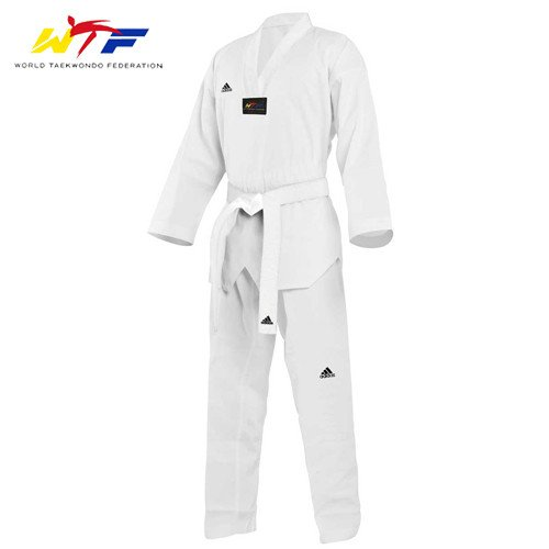 "Dobok Adi-Start ""New"" Cuello Blanco"