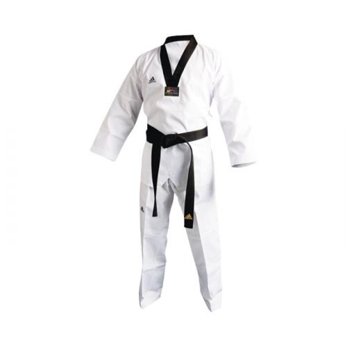 "Dobok Adi-Start ""New"" Cuello Negro"