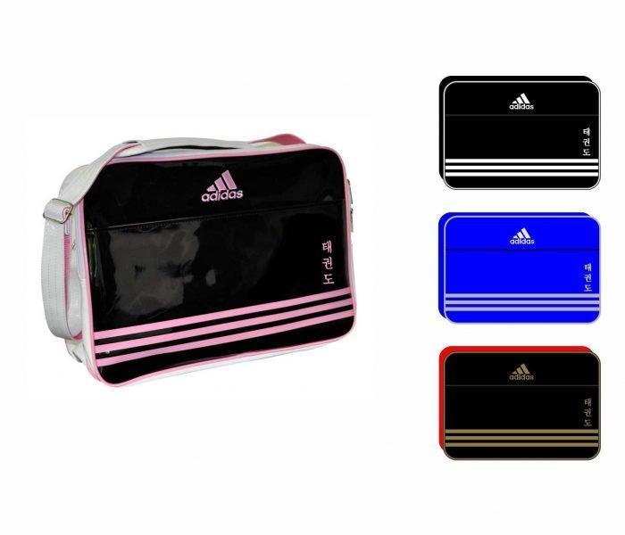 Bolsa TKD Adidas Charol Azul
