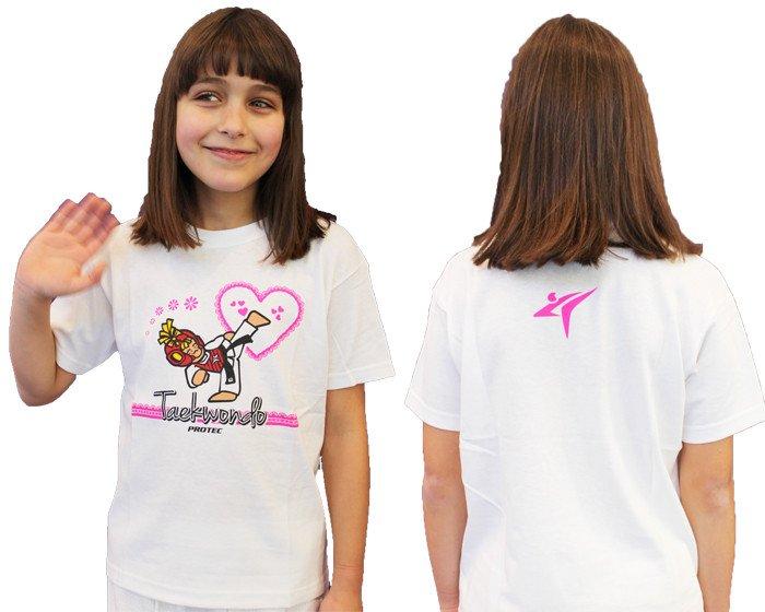 Camiseta TKD Niña Corazón Feliz